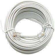OEM telefónny s konektormi RJ11, 15m - Telefónny kábel