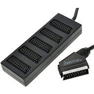 Hama SCART pre 5 zariadení - Adaptér