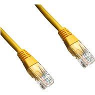 Datacom, CAT6, UTP, 2 m, žltý - Sieťový kábel