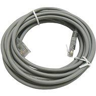 OEM CAT5E UTP sivý 5 m - Sieťový kábel