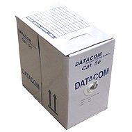 Datacom, drát, CAT5E, UTP, LSOH, 305m / box - Sieťový kábel
