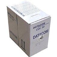 Datacom, drát, CAT5E, UTP, vonkajšie, 305m / box - Sieťový kábel