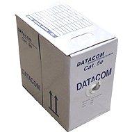 Datacom, drát, CAT5E, FTP, PE vonkajšia, 305 m/box - Sieťový kábel