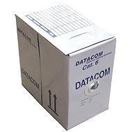 Datacom, drôt, CAT6, FTP, LSOH, 305m/cievka - Sieťový kábel