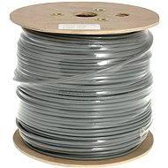 Datacom, drôt, CAT6, FTP, PVC, 500 m/cievka - Sieťový kábel