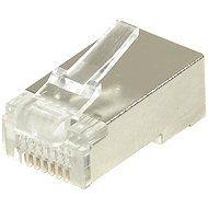 10-pack, Datacom, RJ45, CAT5E, STP, 8p8c, tienený, neskladaný, drôt - Konektor