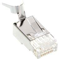ROLINE 10-pack OEM, RJ45, CAT6, STP, 8p8c, skladaný, pre drôt - Konektor
