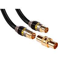 MONSTER Koaxiálny kábel Quad 5 m - Anténny kábel