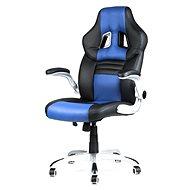MERCURY STAR Williams čierno / modrá - Kancelárska stolička