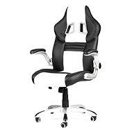 MERCURY STAR Williams čierno / biela - Kancelárska stolička