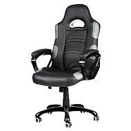 MERCURY STAR Silverstone čierno / sivá - Kancelárska stolička