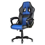 MERCURY STAR Monaco čierno/modrá - Kancelárska stolička