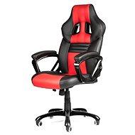 MERCURY STAR Monaco čierno / červená - Kancelárska stolička