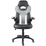 MERCURY STAR Maranello čierno / biela - Herní židle