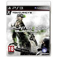 PS3 - Tom Clancys: Splinter Cell: Blacklist - Hra pre konzolu