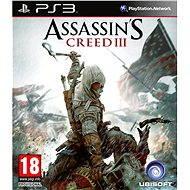 PS3 - Assassin's Creed III CZ - Hra pre konzolu