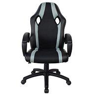 MOSH 8316 černo/šedé - Kancelárske kreslo