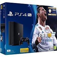 Sony PlayStation 4 Pro 1TB + FIFA 18 - Herná konzola