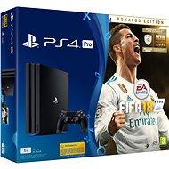 Sony PlayStation 4 Pro 1TB + FIFA 18 Ronaldo Edition - Herná konzola