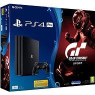 Sony PlayStation 4 Pro 1TB + Gran Turismo Sport - Herná konzola