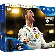 Sony PlayStation 4 1TB + FIFA 18 Ronaldo Edition - Herná konzola