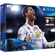 Sony PlayStation 4 1TB + FIFA 18 + extra DualShock 4 - Herná konzola