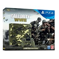 PlayStation 4 1 TB Slim - Call of Duty: WWII Limited Edition - Herná konzola