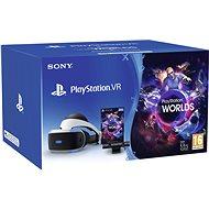 PlayStation VR pre PS4 + hra VR Worlds + PS4 Kamera - Okuliare na virtuálnu realitu