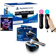 PlayStation VR pre PS4 + hra VR Worlds + PS4 kamera + PS MOVE Twin Pack - Okuliare pre virtuálnu realitu