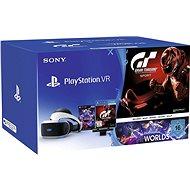 PlayStation VR pro PS4+VR Worlds+GT Sport+PS4 Kamera - Okuliare na virtuálnu realitu