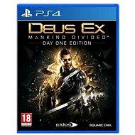 Deus Ex: Mankind Divided D1 Edition - PS4 - Hra na konzolu