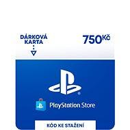 PlayStation Store - Kredit 750 Kč - CZ Digital - Dobíjacia karta
