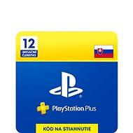 PlayStation Plus 12-mesačné členstvo - SK Digital - Dobíjacia karta