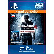 Uncharted 4: A Thief's End Triple Pack Expansion- SK PS4 Digital - Herní doplněk