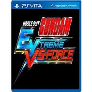 MOBILE SUIT GUNDAM EXTREME VS-FORCE - SK PS Vita Digital - Hra pro konzoli