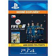 4600 FIFA 17 Points Pack- SK PS4 Digital - Herní doplněk