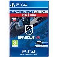 DRIVECLUB VR- SK PS4 Digital - Hra pro konzoli