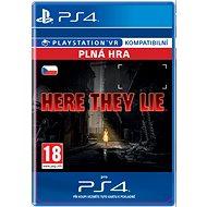 Here They Lie- SK PS4 Digital - Hra pro konzoli