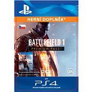 Battlefield 1 Premium Pass- SK PS4 Digital - Herní doplněk