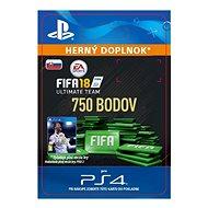 750 FIFA 18 Points Pack - PS4 SK Digital - Herní doplněk