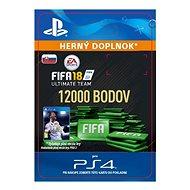 12000 FIFA 18 Points Pack - PS4 SK Digital - Herní doplněk