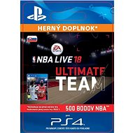 NBA Live 18 Ultimate Team - 500 NBA points - PS4 SK Digital