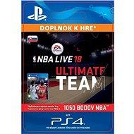 NBA Live 18 Ultimate Team - 1050 NBA points - PS4 SK Digital