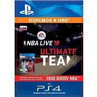 NBA Live 18 Ultimate Team - 2800 NBA points - PS4 SK Digital
