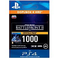 STAR WARS Battlefront II: 1000 Crystals - PS4 SK Digital