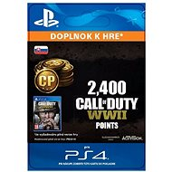 2,400 Call of Duty: WWII Points - PS4 SK Digital
