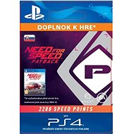 NFS Payback 2200 Speed Points - PS4 SK Digital