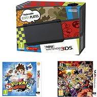 Nintendo NEW 3DS Black + DragonBall Z: Extreme Butoden + YO-KAI WATCH - Herná konzola