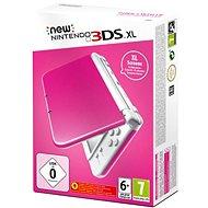 Nintendo NEW 3DS XL Pink + White - Herná konzola