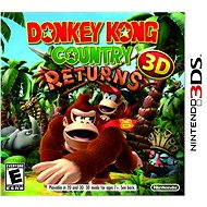 Nintendo 3DS - Donkey Kong Country Returns 3D - Hra pre konzolu
